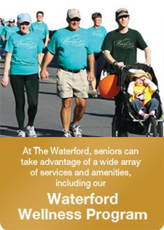 The Waterford on the Bay Walk For Wellness
